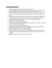 PSY 350_Exam 2 Study Guide