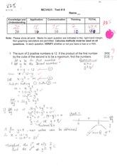 grade 12 calculus unit 1 test pdf