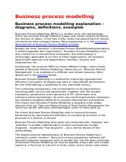 Business process modelling.doc