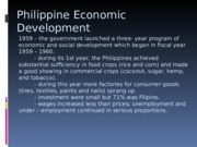 Philippine Economic Development