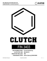 FIN3403 Final Exam Review (Clutch Tutoring).pdf