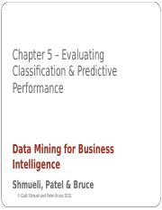 Chap5_EvaluatingPerformance.ppt