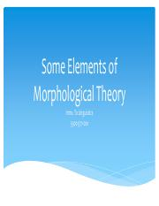 Elements of Morphological Theory.pdf
