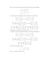 Linear Algebra Solutions 4