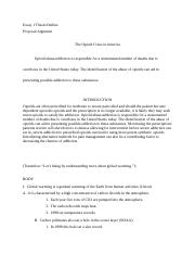 How To Write A Proposal Essay, with Outline