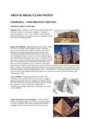 Arts and Ideas Class Notes Book May 2016.pdf