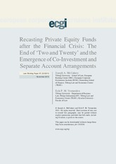 26.2 Recasting Private Equity Funds after the Financial Crisis