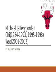 Michael Jeffery Jordan
