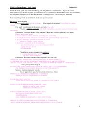 Child Exam 1 Study Guide S19.doc