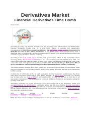 Derivatives Market.Article.2010