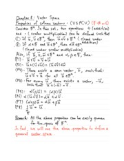 Linear Algebra Chapter 8