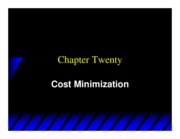 Varian_Chapter20_Cost_Minimization