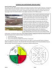 HISTORICAL AND CONTEMPORARY MEDICINE WHEELS.docx