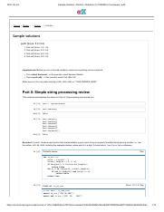 Nb5 Sample Solution Pdf 2018 09 26 Sample Solutions Solution Notebook 5 Cse6040x Courseware Edx Course Modul Solutio Sample Sample Solutions Course Hero
