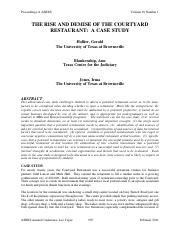 The Rise and Demise of the Courtyard Restaurant -  A Case Study.pdf
