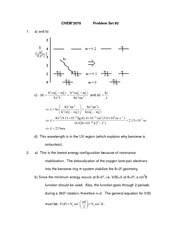 Problem Set 2 (with solutions)