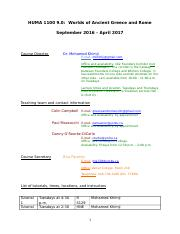 0 - Syllabus (updated September 11)