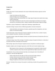 Textbook Notes (Ch. 1-9)