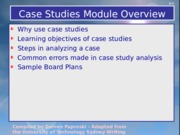 Steps4AnalyzingCaseStudies
