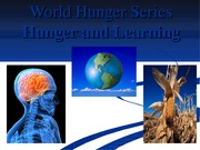 Hunger and Learning
