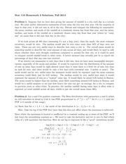 STATS 110 Fall 2014 Homework 6 Solutions