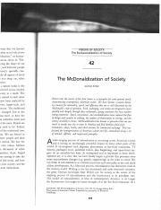 The McDonaldization of Society.pdf