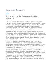 COM 10 ch. 10, 10, 10, 10 - Term Definition Students can establish