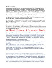 A Short History of Grameen-Bank.docx