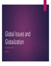 Global Issues and Globalization.pptx