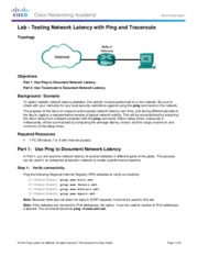 11.3.2.3 Lab - Testing Network Latency with Ping and Traceroute.pdf