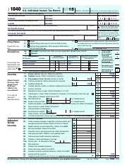 2015 Form 1040 (Schedule E) - SCHEDULE E(Form 1040 Department of ...