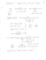 Lecture 5 Notes - State Variables
