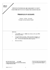 2008 Principles of Accounts