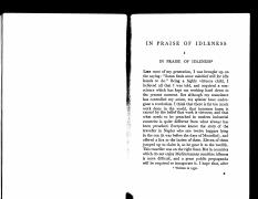 Bertrand Russell - In Praise of Idleness, Abridged.pdf