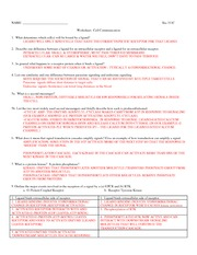311C worksheet14_Communication+A