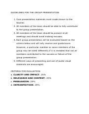 Guidelines for the Group Presentation.pdf