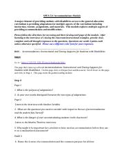 SPEA 521   Accommodations Module-1.docx