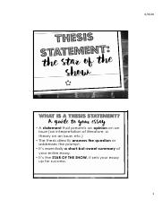 Writing Thesis Statements-The Star of the Show.pdf