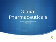 Global Pharmaceuticals (ANT3478_11_24_2014)