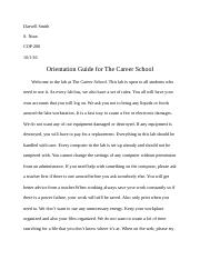 Assignment No. 3 Part 2 by Darvell Smith.docx