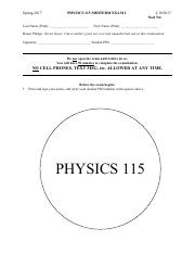 Physics_115_Exam_1_Spring_2017_Solutions