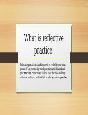 reflective practice assignment.pptx