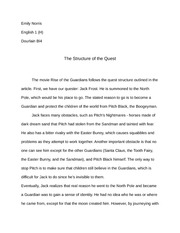 Structure of the Quest Essay