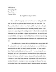 Project Essay