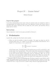 project5- fourier series