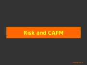 9-5b.- Risk and CAPM