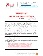 40 bài mẫu ielts speaking part 3 by Simon.pdf