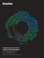 Transitioning to the future of work and the workplace. Deloitte.pdf