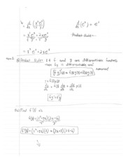 Calculus1 Notes 5 Differentiable Functions