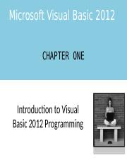 VB Chapter One PowerPoint.pptx